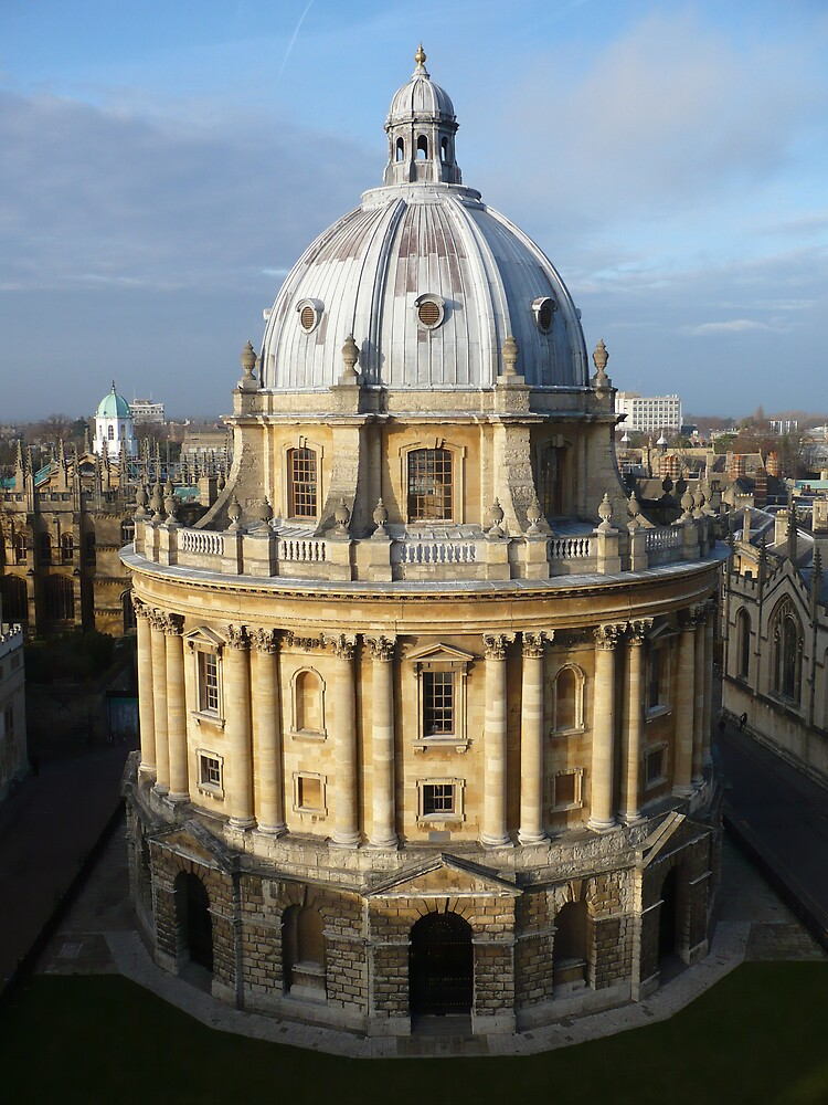 The Bodleian library by Caroline Cage