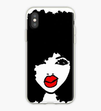 lockiges Naturhaar Afro Natürlich ist sie Dope iPhone-Hülle & Cover