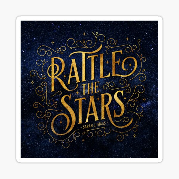 Rattle the Stars - Night Sticker