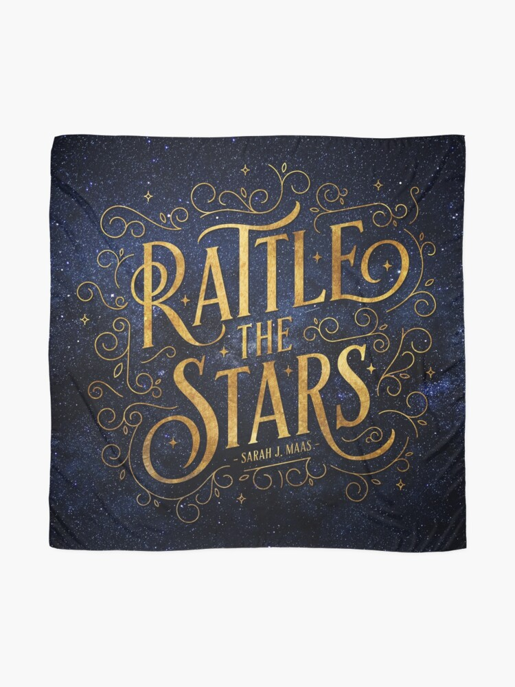 Alternate view of Rattle the Stars - Night Scarf