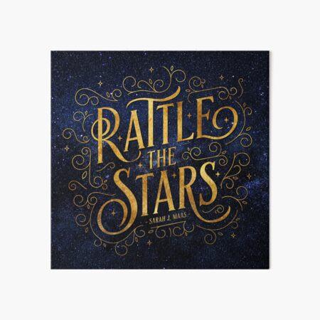 Rattle the Stars - Night Art Board Print
