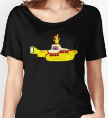 BEATLES YELLOW Women's Relaxed Fit T-Shirt
