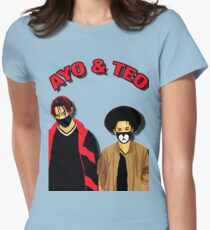 ayo teo Womens Fitted T-Shirt