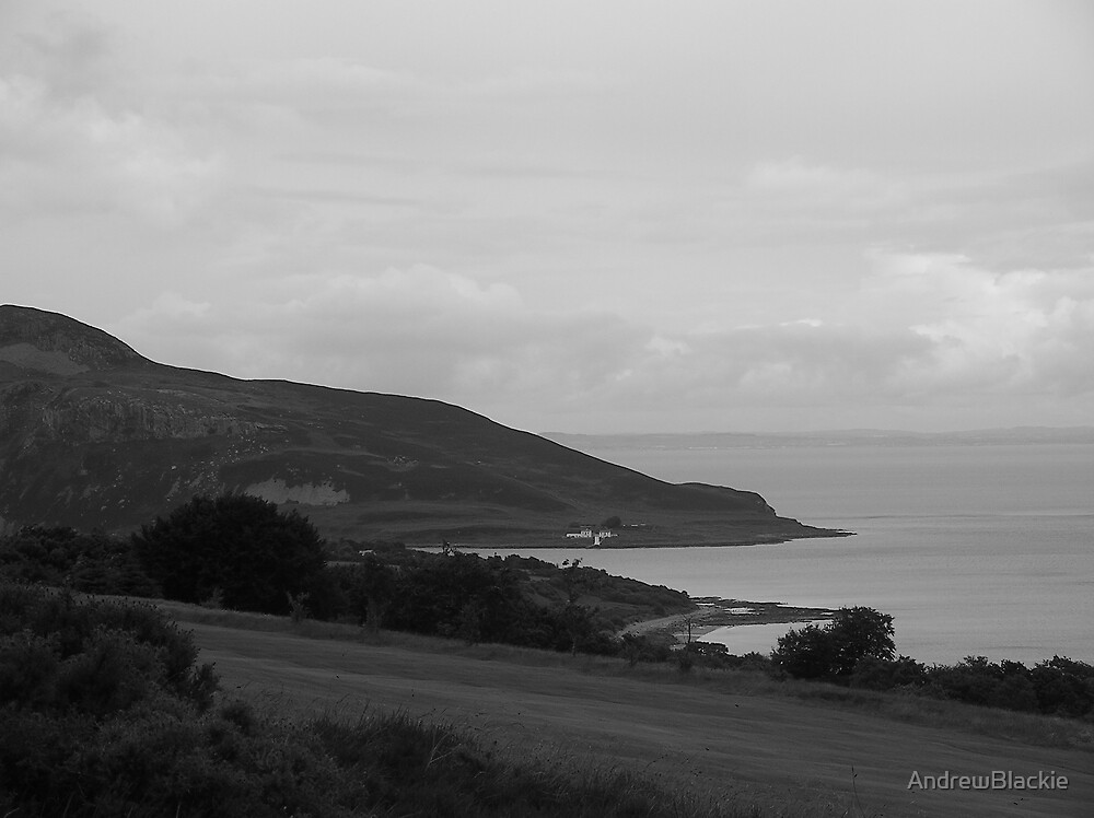 Holy Isle From Whiting Bay GC by AndrewBlackie