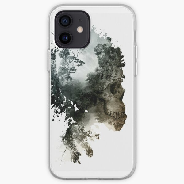 Skull - metamorphosis iPhone Soft Case