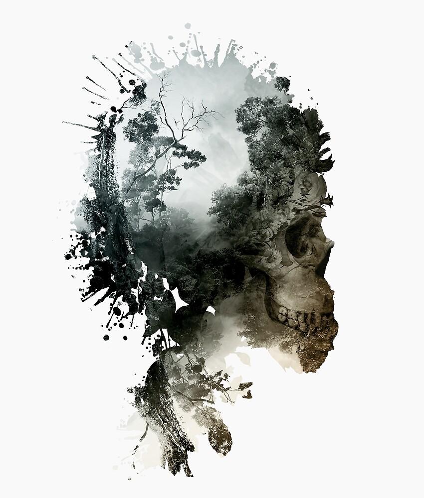 Skull - metamorphosis by RIZA PEKER