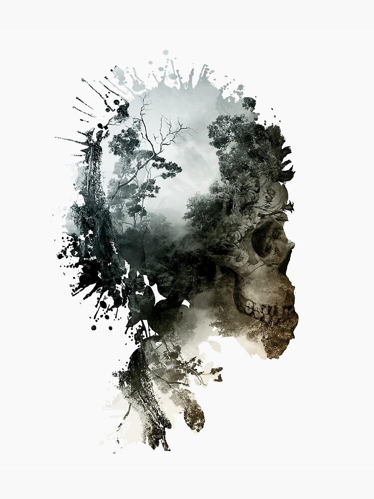 Skull - metamorphosis by rizapeker