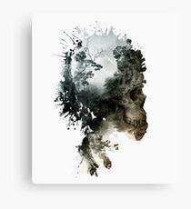 Skull - metamorphosis Canvas Print