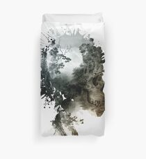 Skull - metamorphosis Duvet Cover