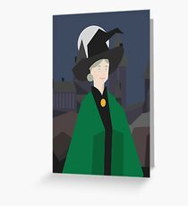Minimalist Mcgonagall Greeting Card