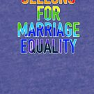 Marriage Equality - Get Your Geelong On In Cats Blue! by IvanHintonTeoh