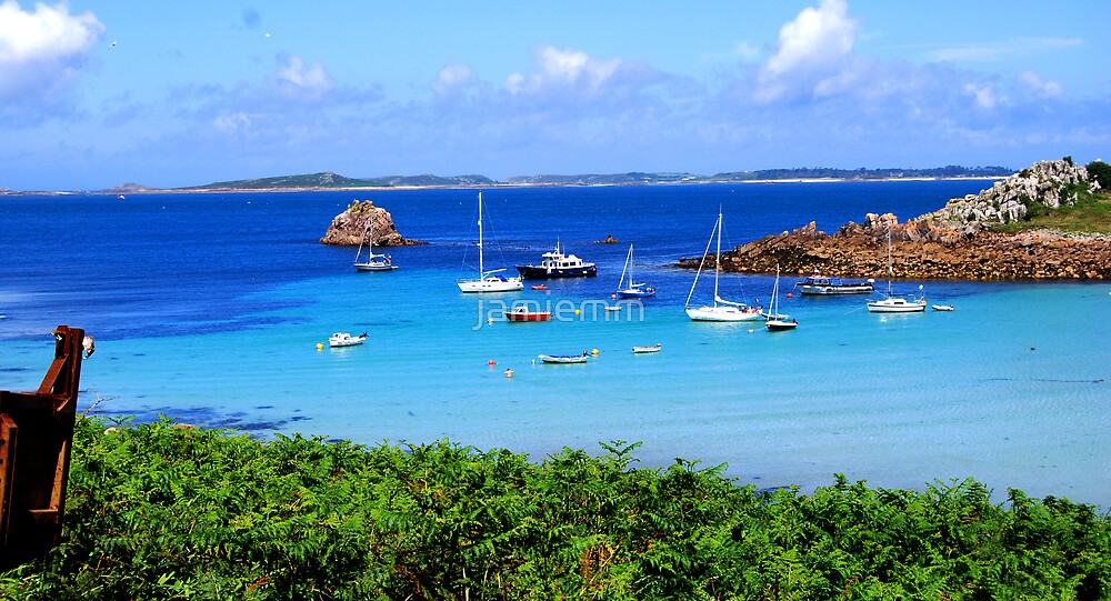 View from St. Agnes by jamiemm