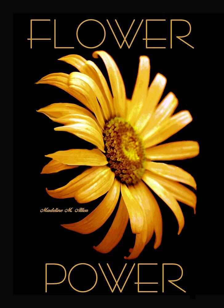 FLOWER POWER by Madeline M  Allen