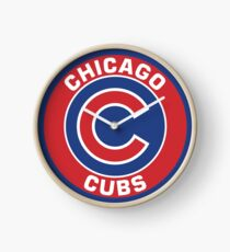 Chicago Cubs Clock