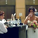 just a quick drink before I head down the aisle by missmunchy