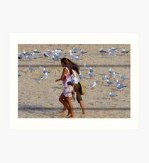 Maroubra Birdlife Art Print