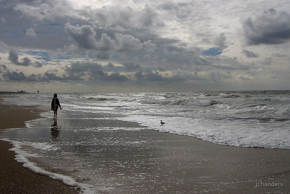 September walk at the North Sea by jchanders