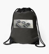 Metal bolts Drawstring Bag