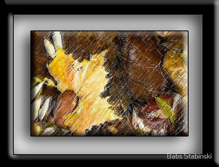 Christopher Creek Leaf! by Babs Stabinski