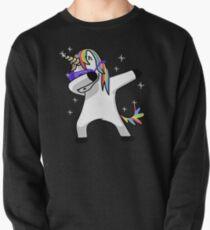 Dabbing Unicorn Shirt Dab Hip Hop Funny Magic Pullover
