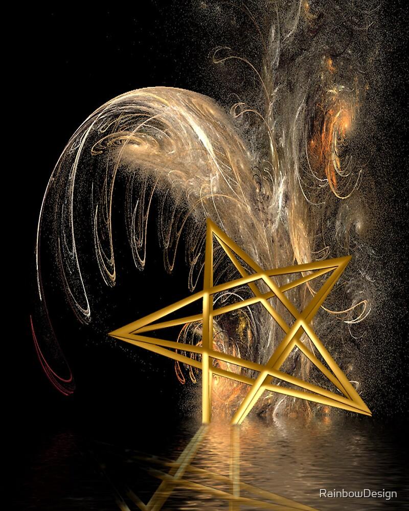 Pentagram Rising by RainbowDesign
