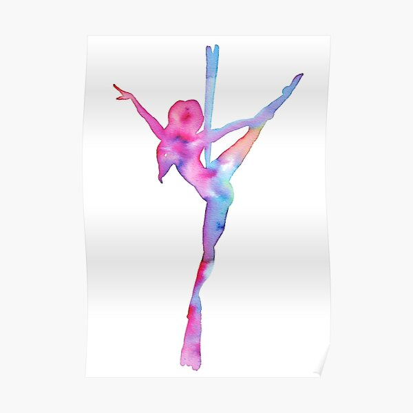 Aerial silks Love Poster