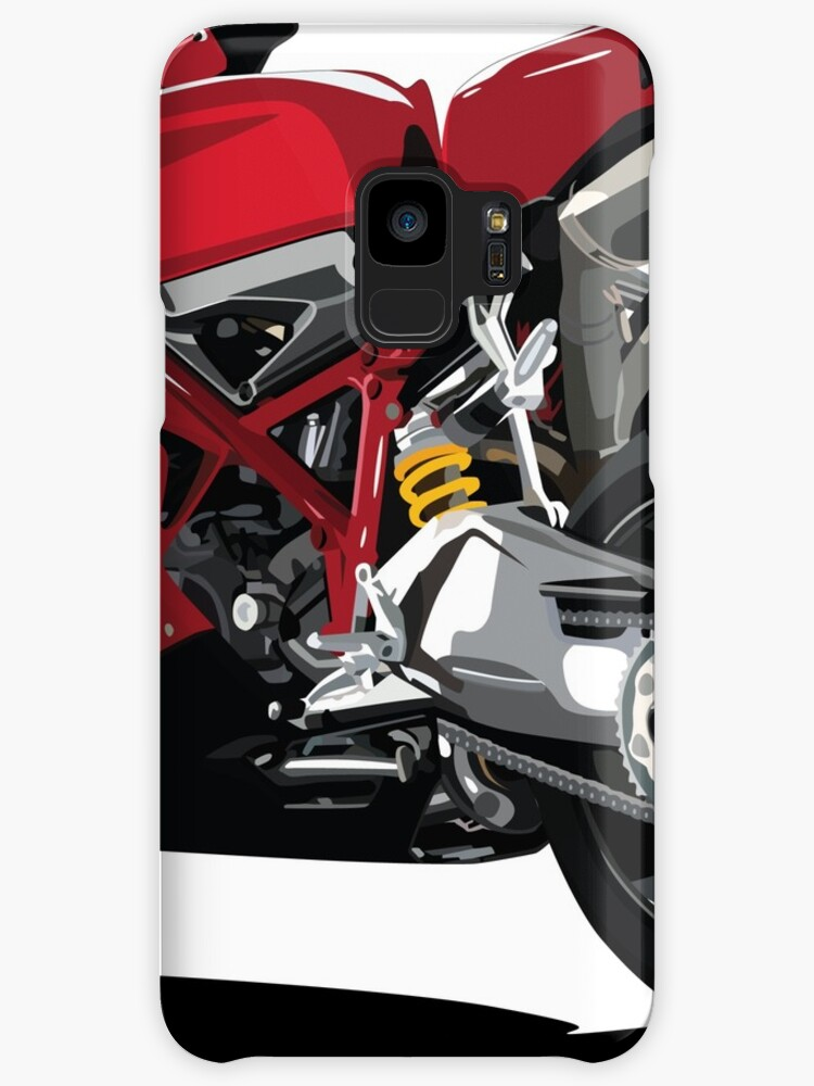 Ducati 848 Bike Cartoon Cases Skins For Samsung Galaxy By