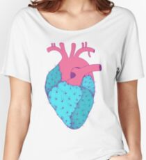 Cactus Heart Women's Relaxed Fit T-Shirt