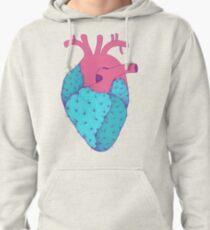 Cactus Heart Pullover Hoodie