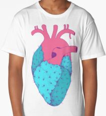 Cactus Heart Long T-Shirt