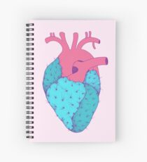 Cactus Heart Spiral Notebook