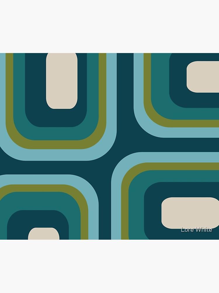 Mid Century Pattern #3 by flashkickdecor