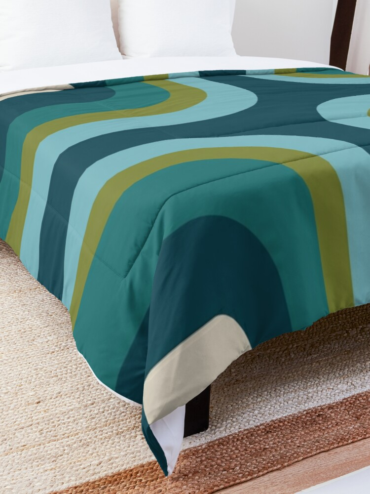 Alternate view of Mid Century Pattern #3 Comforter
