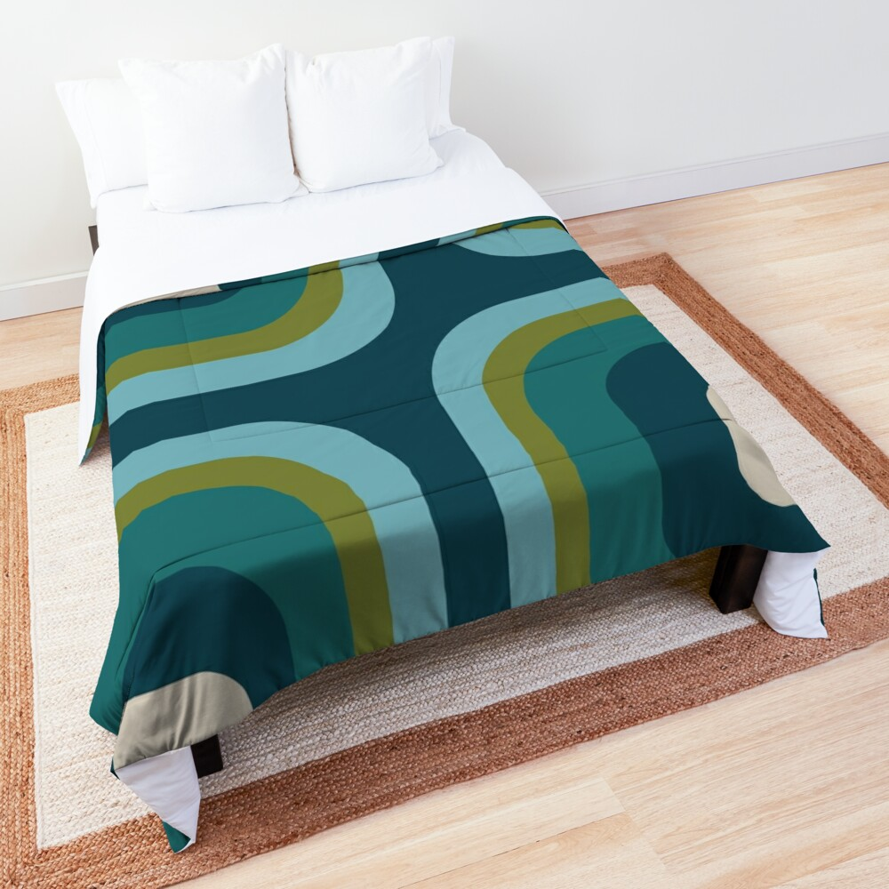 Mid Century Pattern #3 Comforter