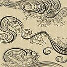 «Wave» de fjilustrador