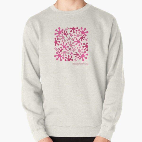 Pink Lotus Bud Pullover Sweatshirt