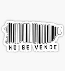 PR NO SE VENDE Sticker