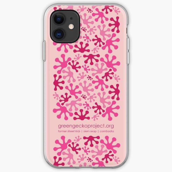 Pink Lotus Bud iPhone Soft Case