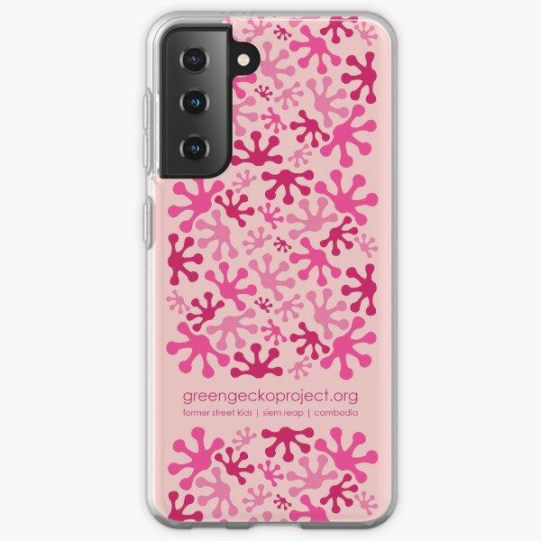 Pink Lotus Bud Samsung Galaxy Soft Case
