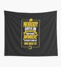 Nobody exists on purpose Wall Tapestry