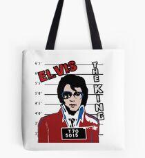 Elvis Presley the King Tote Bag
