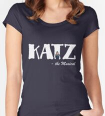 'KATZ' - the musical Women's Fitted Scoop T-Shirt