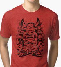Japanese demon Tri-blend T-Shirt