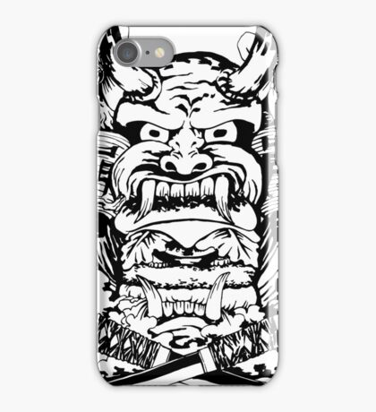 Japanese demon iPhone Case/Skin