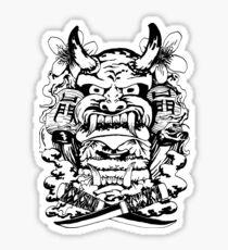 Japanese demon Sticker