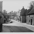 High Street, St Martins, Stamford, c.1972 by Mark Baldwyn