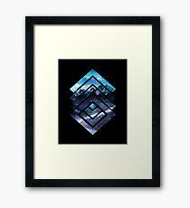 high top Framed Print