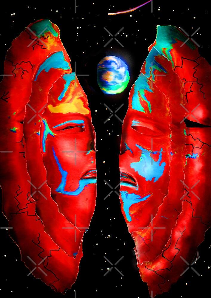 two faced world  by Trevor  Herbert