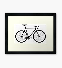 Fixie bicycle  Framed Print