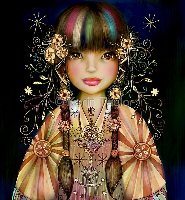 Rainbow Princess by Karin Taylor